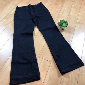 Wide flare leg 👖 Jeans NYDJ Sz. 8 dark denim